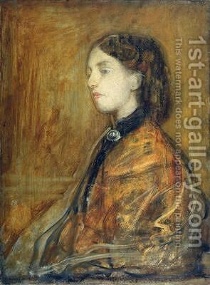 Gwen John 1876-1939 by Ambrose McEvoy - Reproduction Oil Painting