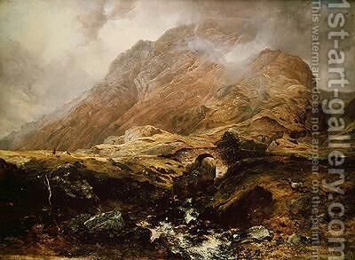 Glencoe 1847 by Horatio McCulloch - Reproduction Oil Painting