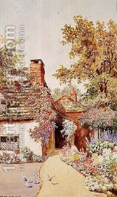 At Shamley Green Surrey by James Matthews - Reproduction Oil Painting