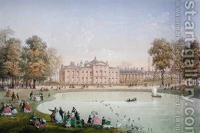 Kensington Palace 1862 by Achille-Louis Martinet - Reproduction Oil Painting