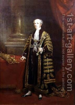 Portrait of Colonel Sir Samuel Wilson by (attr. to) Martin, Charles - Reproduction Oil Painting