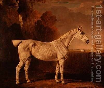 Bony Grey Nag by Benjamin Marshall - Reproduction Oil Painting