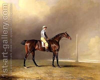 Diamond with Dennis Fitzpatrick Up 1799 by Benjamin Marshall - Reproduction Oil Painting