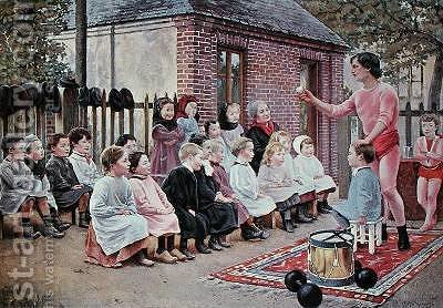 The Conjuror 1893 by (after) Marquet, G. - Reproduction Oil Painting