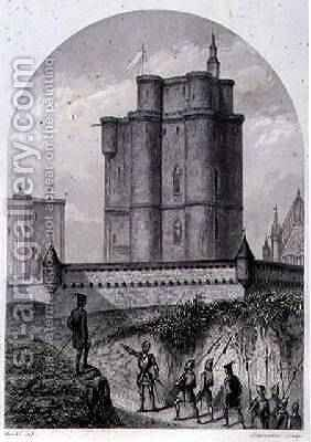 The Keep of Vincennes by (after) Marckl, Louis - Reproduction Oil Painting