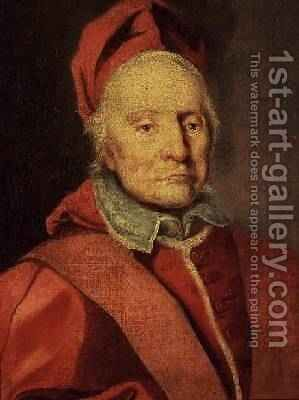Pope Clement XI 1649-1721 by Carlo Maratta or Maratti - Reproduction Oil Painting