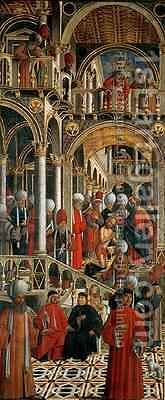 The Baptism of St Anianus by St Mark by Giovanni di Niccolo Mansueti - Reproduction Oil Painting