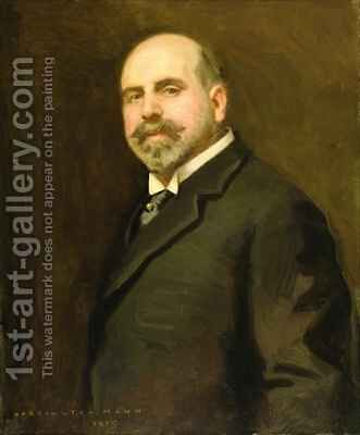 Charles Frederick Fowles 1915 by Harrington Mann - Reproduction Oil Painting