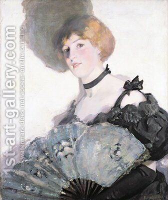 Lamplight 1901 by Bessie MacNicol - Reproduction Oil Painting