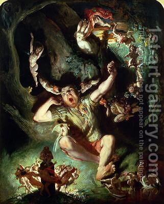The Disenchantment of Bottom by Daniel Maclise - Reproduction Oil Painting