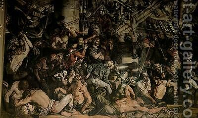 The Death of Nelson 2 by Daniel Maclise - Reproduction Oil Painting