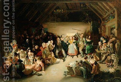 Snapp Apple Night 5 by Daniel Maclise - Reproduction Oil Painting