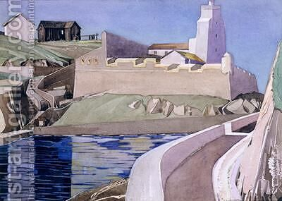 The Lighthouse 1927 by Charles Rennie Mackintosh - Reproduction Oil Painting