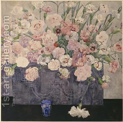 Pinks by Charles Rennie Mackintosh - Reproduction Oil Painting