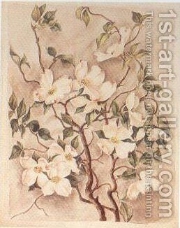 Flowering Dogwood by Caroline Harrison - Reproduction Oil Painting