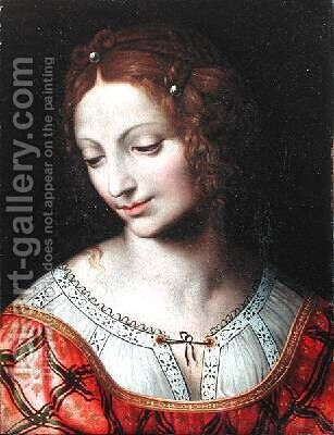 Salome by Bernardino Luini - Reproduction Oil Painting