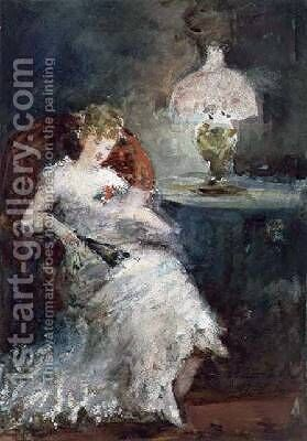 Her First May Ball by Albert Ludovici - Reproduction Oil Painting
