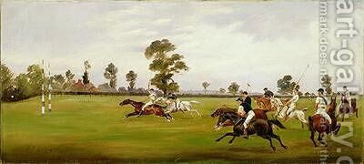 Polo 1893 by Henry Frederick Lucas-Lucas - Reproduction Oil Painting