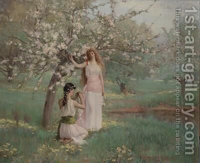 Spring 1891 by Arthur Loureiro - Reproduction Oil Painting