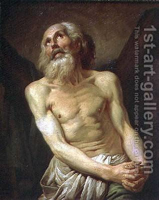St Andrew the Apostle by Anton Losenko - Reproduction Oil Painting