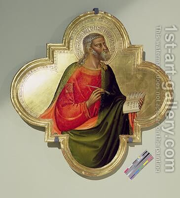 St Mark by Bicci Di Lorenzo - Reproduction Oil Painting