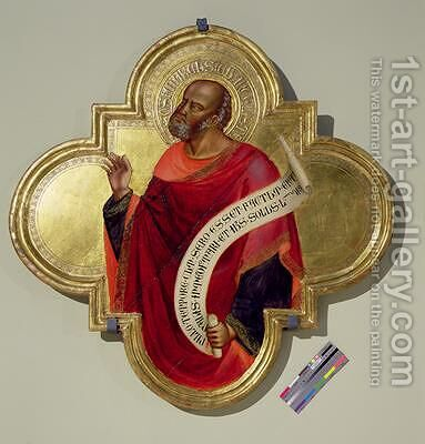 St Matthew by Bicci Di Lorenzo - Reproduction Oil Painting