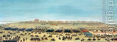 The Surrender of Uruguaiana Brazil 1865 by Candido Lopez - Reproduction Oil Painting