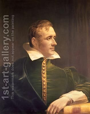 Sir Thomas Stamford Raffles 1781-1826 by James Lonsdale - Reproduction Oil Painting