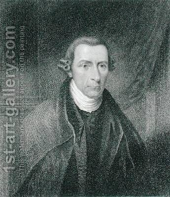 Patrick Henry 1736-99 by (after) Longacre, James Barton - Reproduction Oil Painting