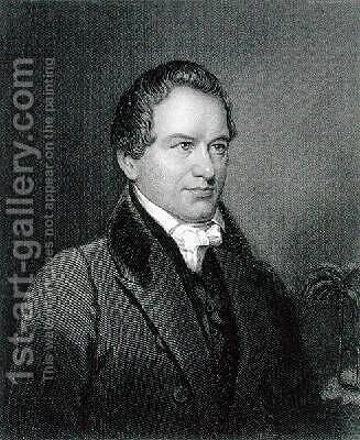 Robert Young Hayne 1791-1841 by (after) Longacre, James Barton - Reproduction Oil Painting