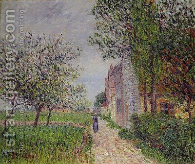 Spring St Cyr-de-Vaudreuil by Gustave Loiseau - Reproduction Oil Painting