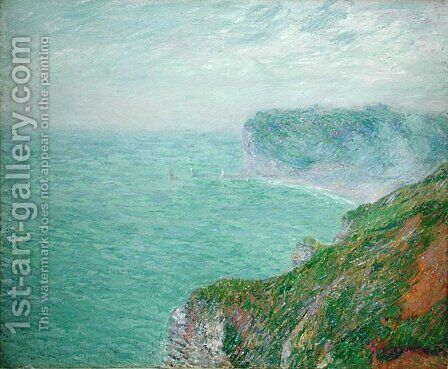 The Cliffs at Fecamp 1920 2 by Gustave Loiseau - Reproduction Oil Painting