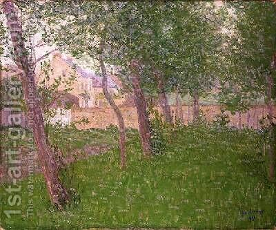 The Park 1911 by Gustave Loiseau - Reproduction Oil Painting