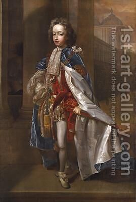 Portrait of Prince William of Gloucester by Edmund Lilly - Reproduction Oil Painting