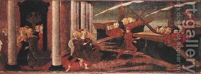 The Abduction of Helen 1470 by da Verona Liberale (Bonfanti) - Reproduction Oil Painting