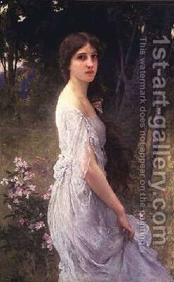 Springtime by Charles Amable Lenoir - Reproduction Oil Painting