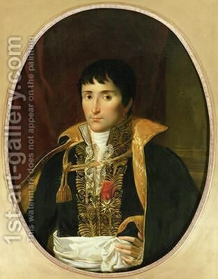 Portrait of Lucien Bonaparte 1775-1840 by (attr. to) Lefevre, Robert - Reproduction Oil Painting