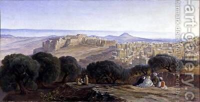 Bethlehem by Edward Lear - Reproduction Oil Painting
