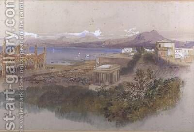 Palermo by Edward Lear - Reproduction Oil Painting