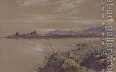 Corfu 2 by Edward Lear - Reproduction Oil Painting