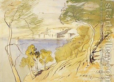 Villefranche 2 by Edward Lear - Reproduction Oil Painting