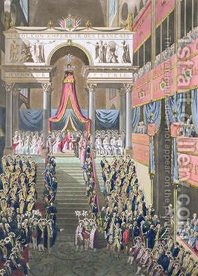 Sacred Festival and Coronation of their Imperial Majesties 3 by (after) Le Coeur, Louis - Reproduction Oil Painting