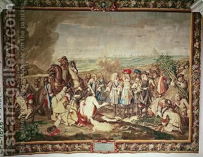 The Surrender of Marsal in 1662 by (after) Le Brun, Charles - Reproduction Oil Painting