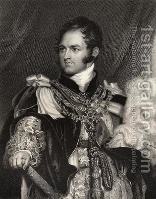 Leopold George Chretien Frederic of Saxe Coburg by (after) Lawrence, Sir Thomas - Reproduction Oil Painting