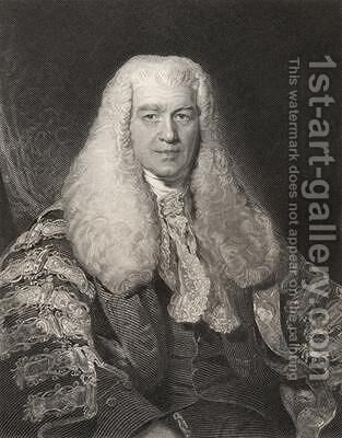 Sir Thomas Plumer by (after) Lawrence, Sir Thomas - Reproduction Oil Painting