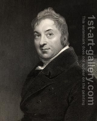 Edward Jenner by (after) Lawrence, Sir Thomas - Reproduction Oil Painting