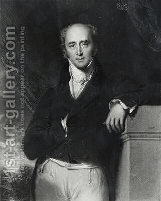 Portrait of the Right Honourable Charles Grey by (after) Lawrence, Sir Thomas - Reproduction Oil Painting