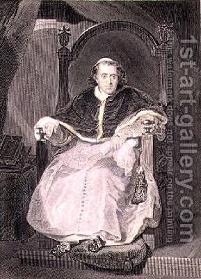 The Roman Pontiff by (after) Lawrence, Sir Thomas - Reproduction Oil Painting