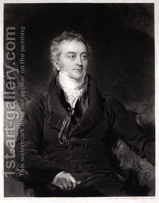 Thomas Young 2 by (after) Lawrence, Sir Thomas - Reproduction Oil Painting