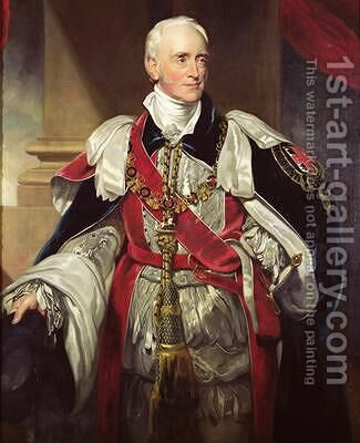 Philip Yorke 1757-1834 by (after) Lawrence, Sir Thomas - Reproduction Oil Painting